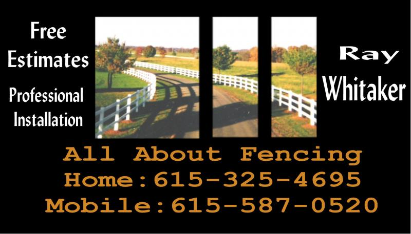 All About Fencing Contact Us